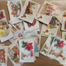 Postales: 80 BONITAS POSTALES AÑOS 60 - 70. NIÑOS, ENAMORADOS, TRAJES TIPICOS REGIONALES, FLORES, CHISTES. Lote 222593525