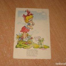 Postales: POSTAL DE NIÑA. Lote 226336543