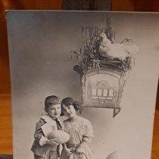Postales: POSTAL ESCRITA 1915. Lote 231910260