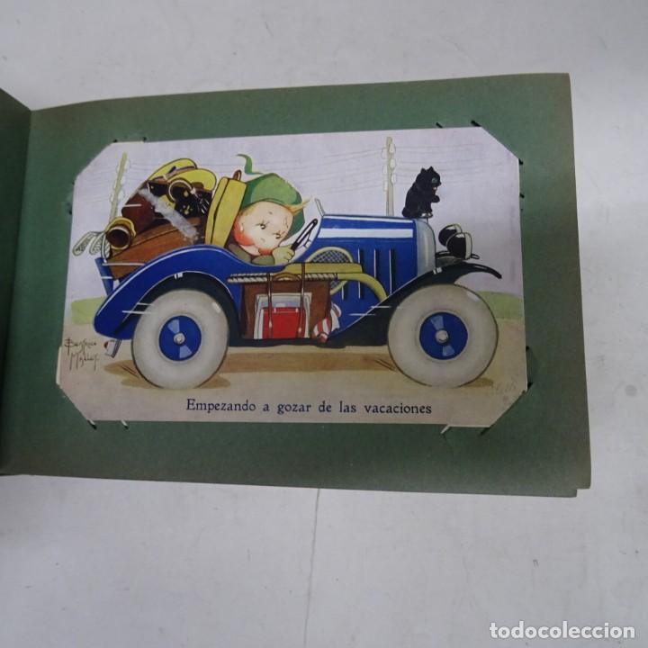 Postales: MAGNIFICO ALBUM APAISADO CON 100 POSTALES DE NIÑOS Y NIÑAS. 20X13 CMS . MUY BUEN ESTADO. - Foto 2 - 237553225