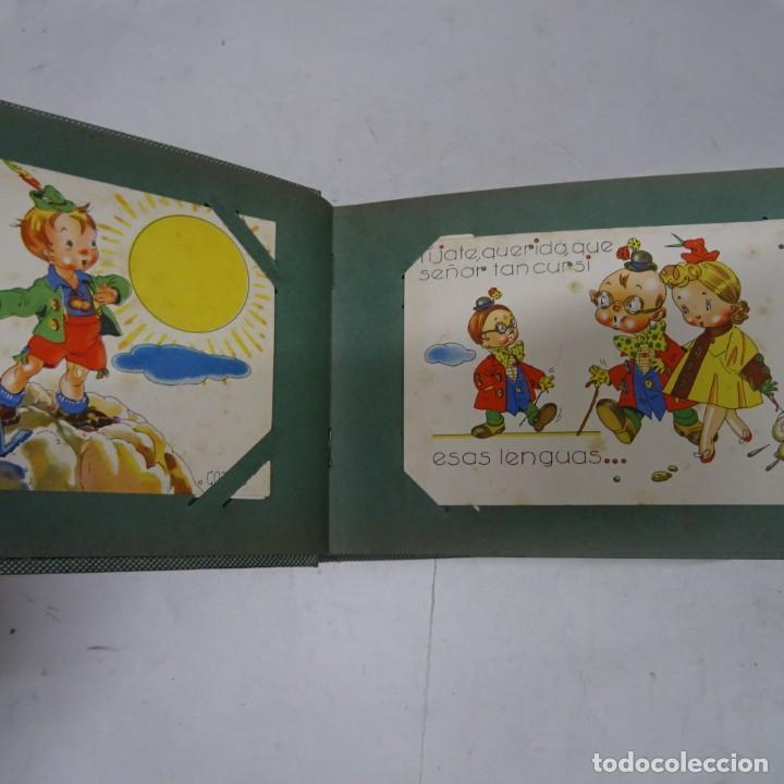 Postales: MAGNIFICO ALBUM APAISADO CON 100 POSTALES DE NIÑOS Y NIÑAS. 20X13 CMS . MUY BUEN ESTADO. - Foto 3 - 237553225