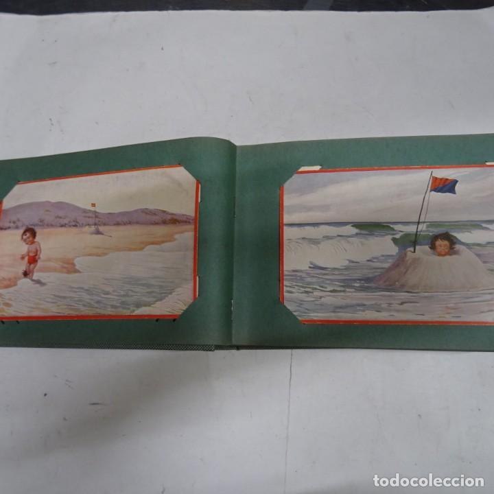Postales: MAGNIFICO ALBUM APAISADO CON 100 POSTALES DE NIÑOS Y NIÑAS. 20X13 CMS . MUY BUEN ESTADO. - Foto 9 - 237553225