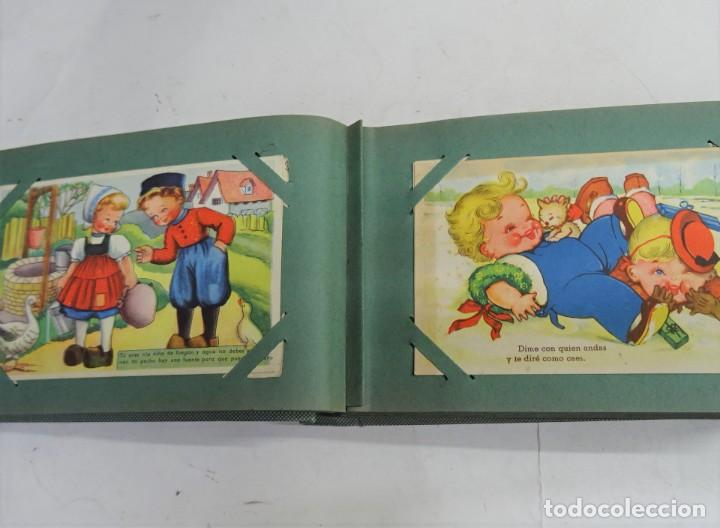 Postales: MAGNIFICO ALBUM APAISADO CON 100 POSTALES DE NIÑOS Y NIÑAS. 20X13 CMS . MUY BUEN ESTADO. - Foto 12 - 237553225