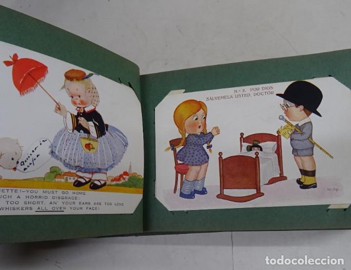 Postales: MAGNIFICO ALBUM APAISADO CON 100 POSTALES DE NIÑOS Y NIÑAS. 20X13 CMS . MUY BUEN ESTADO. - Foto 15 - 237553225