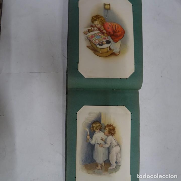Postales: MAGNIFICO ALBUM APAISADO CON 100 POSTALES DE NIÑOS Y NIÑAS. 20X13 CMS . MUY BUEN ESTADO. - Foto 29 - 237553225