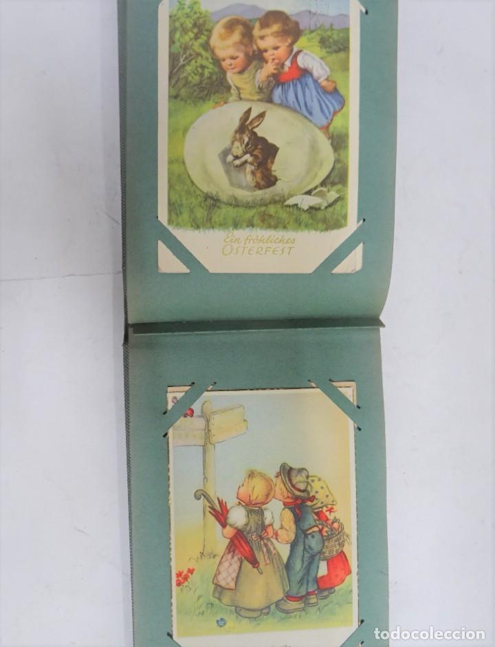 Postales: MAGNIFICO ALBUM APAISADO CON 100 POSTALES DE NIÑOS Y NIÑAS. 20X13 CMS . MUY BUEN ESTADO. - Foto 36 - 237553225