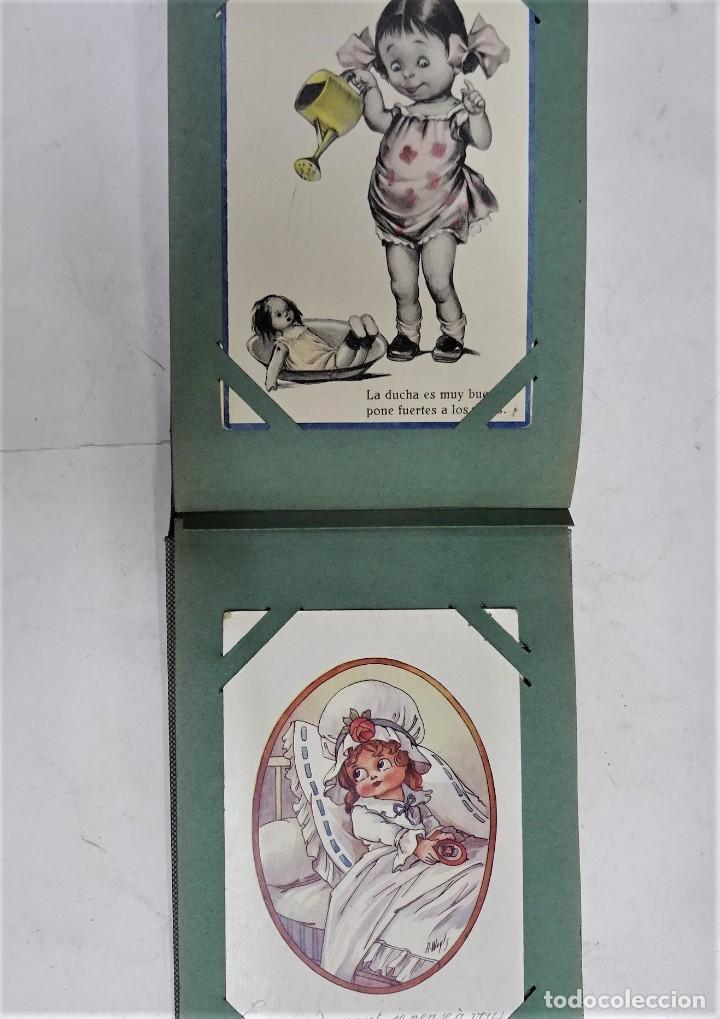 Postales: MAGNIFICO ALBUM APAISADO CON 100 POSTALES DE NIÑOS Y NIÑAS. 20X13 CMS . MUY BUEN ESTADO. - Foto 42 - 237553225