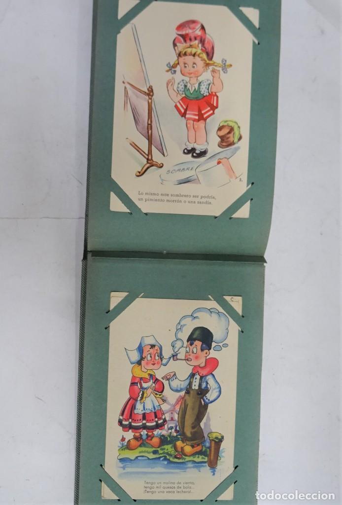 Postales: MAGNIFICO ALBUM APAISADO CON 100 POSTALES DE NIÑOS Y NIÑAS. 20X13 CMS . MUY BUEN ESTADO. - Foto 44 - 237553225