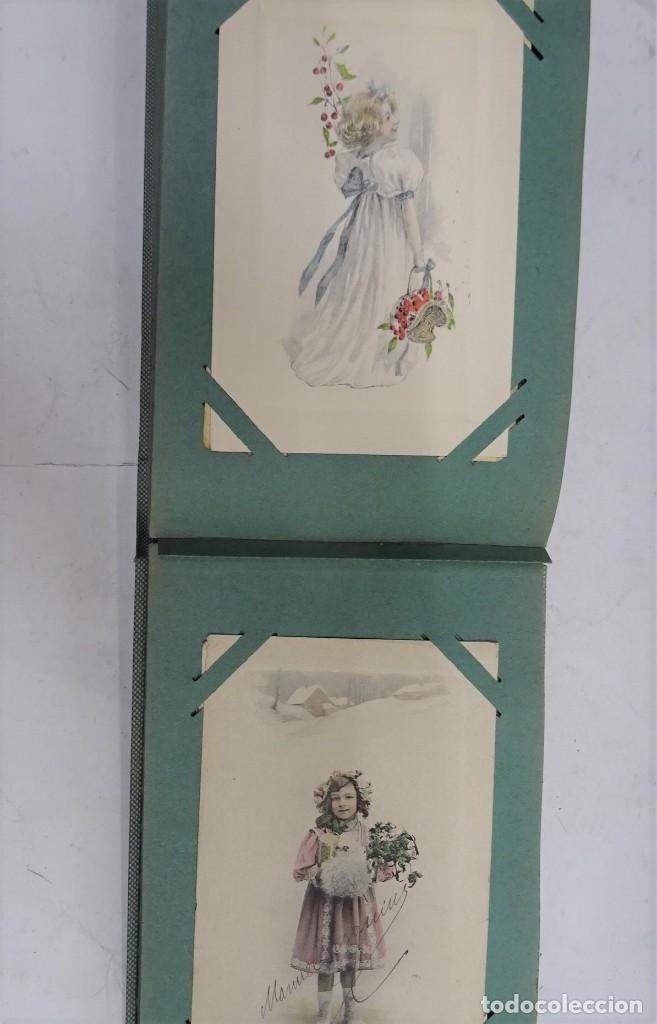 Postales: MAGNIFICO ALBUM APAISADO CON 100 POSTALES DE NIÑOS Y NIÑAS. 20X13 CMS . MUY BUEN ESTADO. - Foto 46 - 237553225