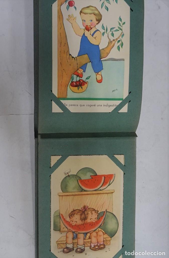Postales: MAGNIFICO ALBUM APAISADO CON 100 POSTALES DE NIÑOS Y NIÑAS. 20X13 CMS . MUY BUEN ESTADO. - Foto 48 - 237553225