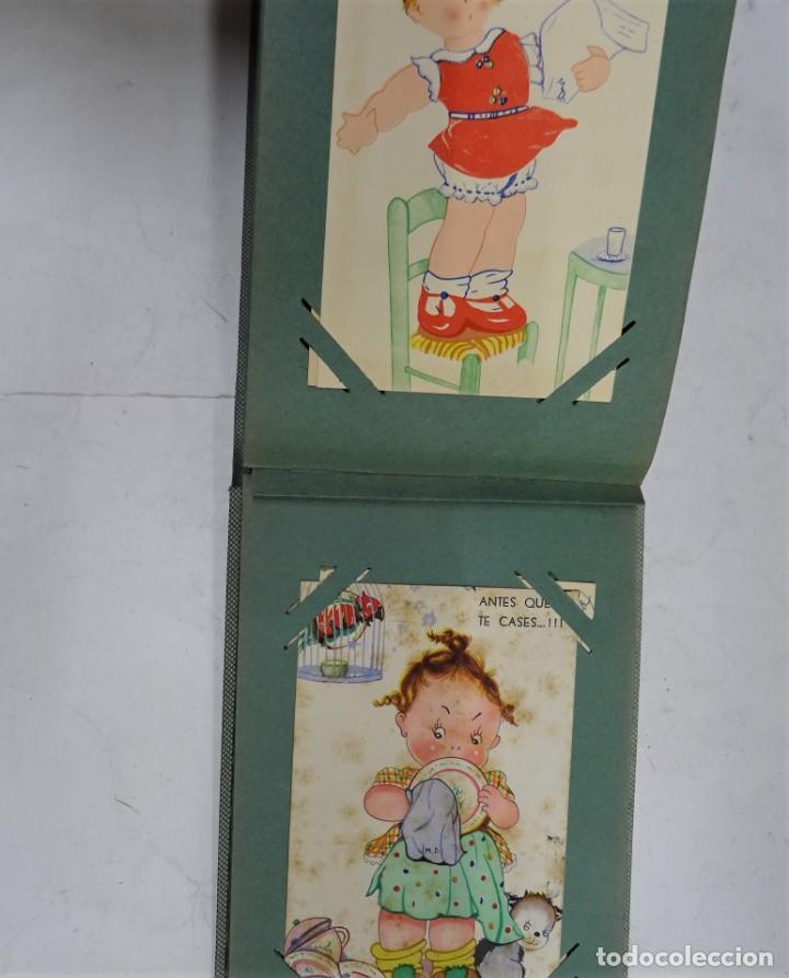 Postales: MAGNIFICO ALBUM APAISADO CON 100 POSTALES DE NIÑOS Y NIÑAS. 20X13 CMS . MUY BUEN ESTADO. - Foto 50 - 237553225