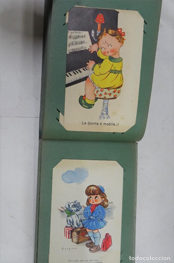 Postales: MAGNIFICO ALBUM APAISADO CON 100 POSTALES DE NIÑOS Y NIÑAS. 20X13 CMS . MUY BUEN ESTADO. - Foto 51 - 237553225