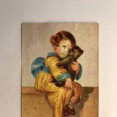 Postales: POSTAL NIÑOS.., ILUSTRA W. F., NO.1877, DEDICADA.. ZARAGOZA (A.1933). Lote 245748020