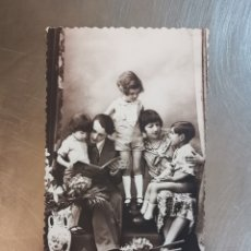 Postales: POSTAL DE FAMILIA, ED. LEO Nº5267 PARÍS. ESCRITA EN 1935, SALLENT. Lote 251910460