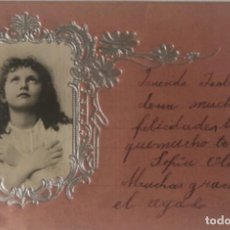 Postales: POSTAL NIÑA. Lote 252347050