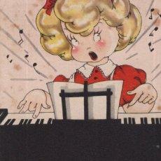 Postales: MARIA CLARET. ESCUCHAD MI BONITA CANCIÓN. PIANO. Lote 254168450