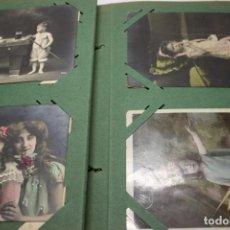 Postales: ALBUM CON 100 POSTALES TEMA NIÑOS AÑOS PRINCIPIOS DE SIGLO. Lote 258248370
