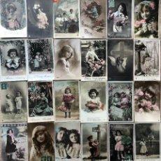 Postales: 24 POSTALES (NIÑOS) ROMANTICAS. Lote 263430605