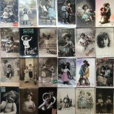 Postales: 24 POSTALES (NIÑOS) ROMANTICAS. Lote 263440920