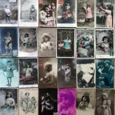 Postales: 24 POSTALES (NIÑOS) ROMANTICAS. Lote 263457290