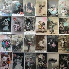 Postales: 24 POSTALES (NIÑOS) ROMANTICAS. Lote 263460940