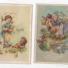 Postales: LOTE DE 2 TARJETAS POSTALES INFANTILES. AÑOS 1958-59. Lote 268810629