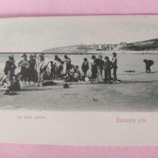 Postales: POSTAL FRANCIA BOULOGNE, BAÑOS PUBLICOS. Lote 269771238