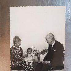 Postales: POSTAL DE 1949 DIRIGIDA A RUBÍ. ABUELOS CON NIÑO. CIMA Nº44. Lote 269985773