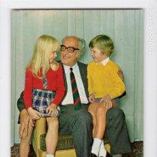 Postales: ABUELO CON NIETOS. SERIE 1087/2 ♦ POSTALES VIKINGO, 1971. Lote 270415848