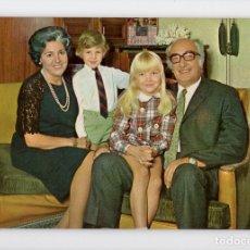 Postales: ABUELOS CON NIETOS. SERIE 1087/4 ♦ POSTALES VIKINGO, 1971. Lote 270415863