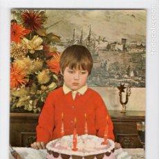 Postales: CUMPLEAÑOS. SERIE 1020/3 ♦ POSTALES VIKINGO, 1969. Lote 270415983