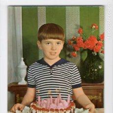 Postales: CUMPLEAÑOS. SERIE 1020/2 ♦ POSTALES VIKINGO, 1969. Lote 270416013