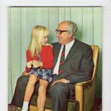 Postales: ABUELO CON NIETA. SERIE 1088/2 ♦ POSTALES VIKINGO, 1971. Lote 270416098