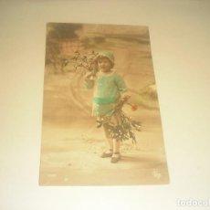 Postales: ANTIGUA POSTAL DE NIÑA , ESCRITA 1911.. Lote 275966623