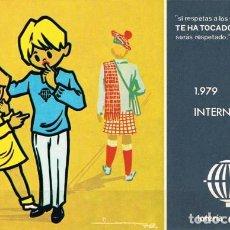 Postales: [C0400] ESPAÑA 1979, POSTAL LOTERÍA. AÑO INTERNACIONAL DEL NIÑO, L-4 (N). Lote 277549883