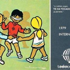 Postales: [C0404] ESPAÑA 1979, POSTAL LOTERÍA. AÑO INTERNACIONAL DEL NIÑO, L-3 (N). Lote 277551603