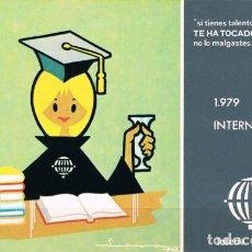 Postales: [C0405] ESPAÑA 1979, POSTAL LOTERÍA. AÑO INTERNACIONAL DEL NIÑO, L-10 (N). Lote 277638453