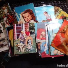 Postales: 90 POSTALES * FOTO NIÑOS * ( LOTE Nº 2 ). Lote 280371913