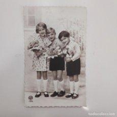 Postales: POSTAL ROMANTICA NIÑOS. NOYER 1399. ESCRITA DETRAS 1934 MADRID. Lote 282002583