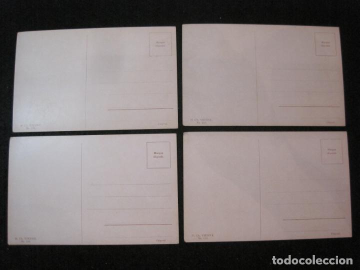 Postales: NIÑOS BAJO LA LLUVIA-COLECCION DE 5 POSTALES ANTIGUAS-VER FOTOS-(82.856) - Foto 4 - 282976388