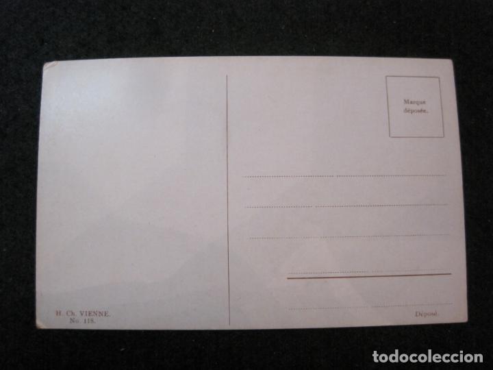 Postales: NIÑOS BAJO LA LLUVIA-COLECCION DE 5 POSTALES ANTIGUAS-VER FOTOS-(82.856) - Foto 5 - 282976388