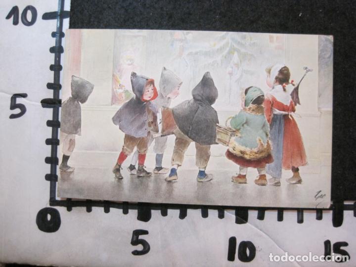 Postales: NIÑOS BAJO LA LLUVIA-COLECCION DE 5 POSTALES ANTIGUAS-VER FOTOS-(82.856) - Foto 6 - 282976388