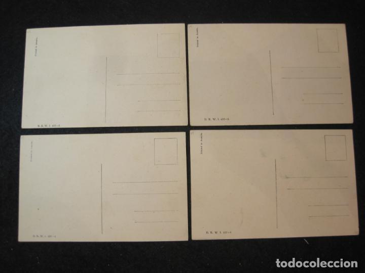 Postales: NIÑOS JUGANDO Y BAILANDO-COLECCION DE 5 POSTALES ANTIGUAS-VER FOTOS-(82.857) - Foto 4 - 282976418