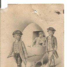 Postales: POSTAL B.K.W. 1. 4135.3 ALFONSO XIII MEDALLÓN 10CTS. Lote 287655758