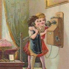 Postales: PORTUGAL & MARCOFILIA, FANTASIA, INFANTIL, AMARES PORTUGAL 1910 (754). Lote 288339663