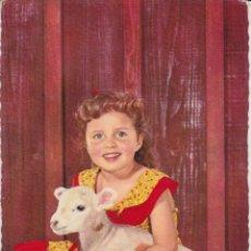 Postales: ANTIGUA POSTAL NIÑOS – EDITA CYZ 6002 – ESCRITA 1960. Lote 289300428