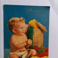 Postales: POSTAL - NIÑO - ED. TORINO SERIE 104 - FOTOCOLOR KODAK EKTACHROME. Lote 294016198