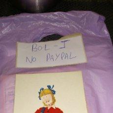 Postales: POSTAL BENISI NIÑOS EDICIONES COLÓN. Lote 294497968