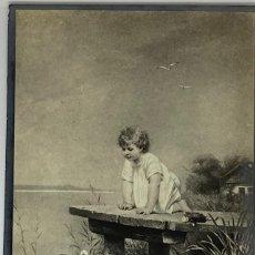 Postales: POSTAL NIÑOS CON PATOS, DIE LIEBLINGE AÑOS 1910 ROBERT BEISCHLAG. Lote 294971698