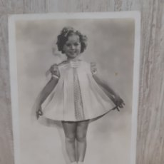 Postales: ANTIGUA POSTAL DE SHIRLEY TEMPLE VER FOTOS. Lote 295397178
